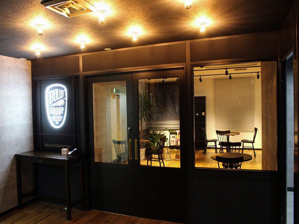 バレットグループ株式会社のオフィスデザインと内装工事
