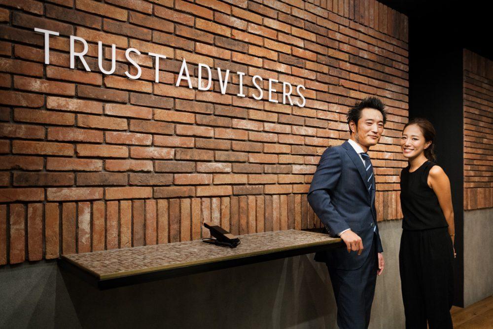 株式会社トラストアドバイザーズのオフィスデザインと内装工事